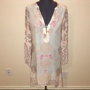 Free People Paisley Summer Dress XS Cover Up😻